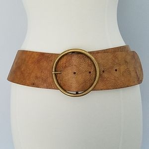 Streets Ahead Tan Brown Leather Belt 18170